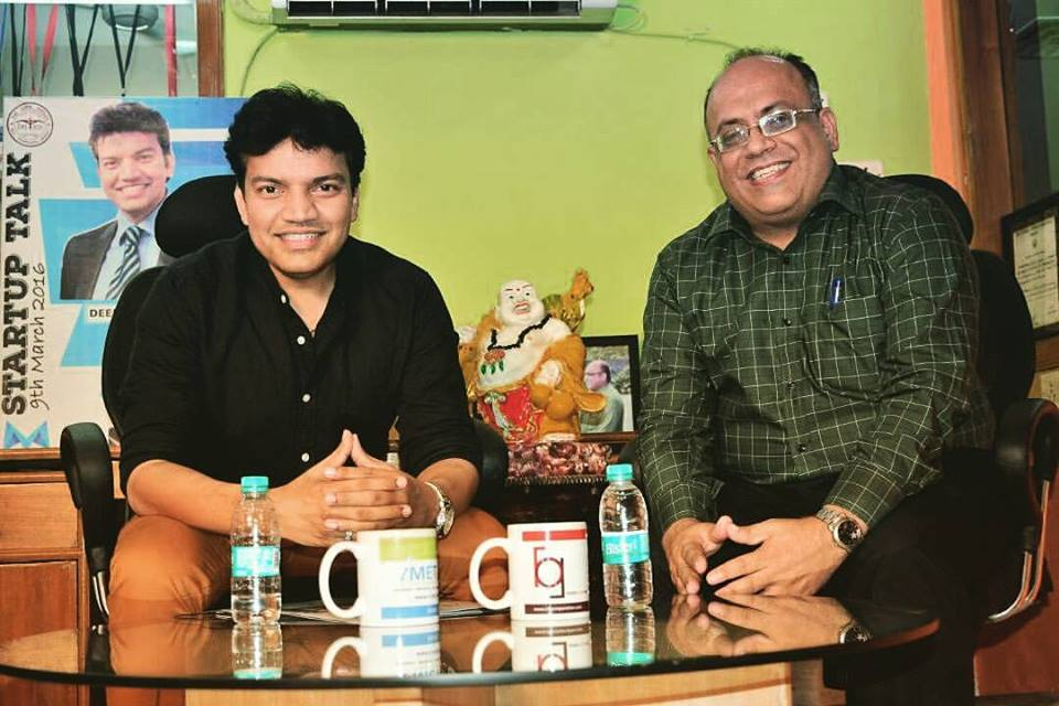 Deepak Goel with Dr. Amit Nagpal