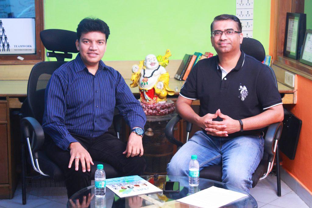 Deepak Goel with Stephen Dantas